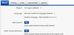 DuckDuckGo-Settings