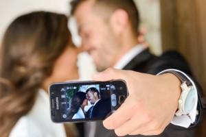 selfies boda