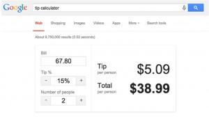 google 3 propinas